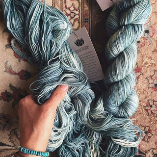 I gifted some of my yarn and a set of br