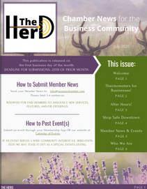 """""""The Herd"""" Monthly Newsletter - July 2020"""