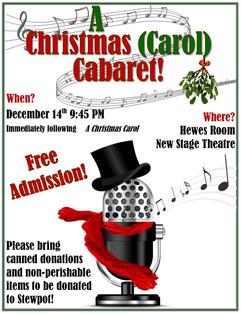 Christmas Carol Cabaret Promo