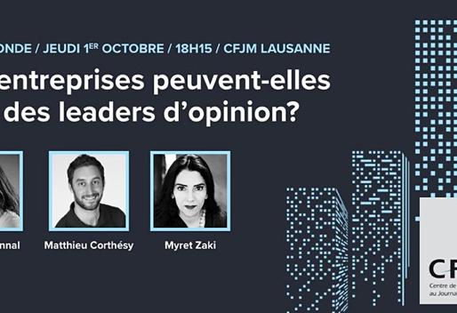 Les entreprises peuvent-elles être des leaders d'opinion ?