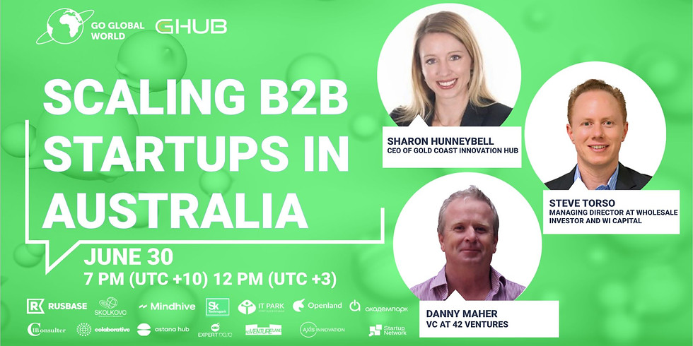 SCALING B2B STARTUPS IN AUSTRALIA