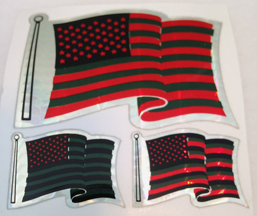 Flag Stickers - pack of 4