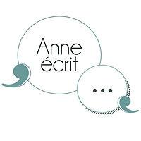 """Logo de l'agence """"Anne écrit"""""""