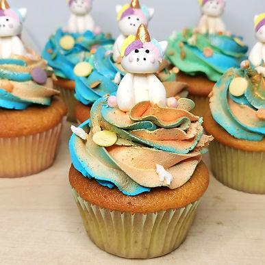 Cup cakes de vainilla
