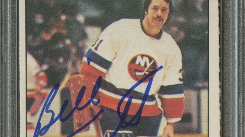1977 O-Pee-Chee OPC Hockey #229 Bill Smith Signed PSA/DNA 10 AUTO