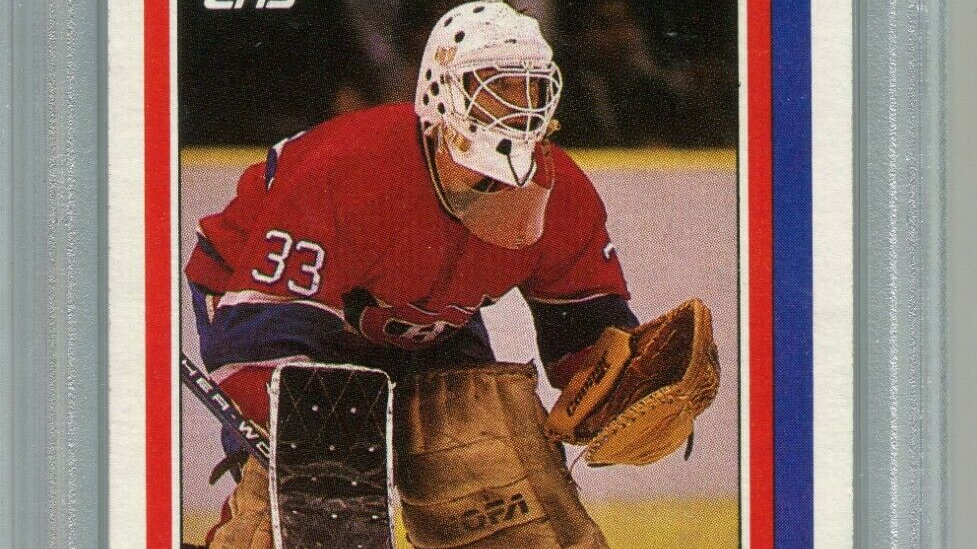 1986 Topps Hockey #53 Patrick Roy Rookie Card RC PSA 9