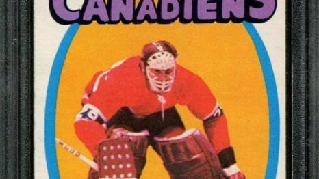 1971 O-PEE-CHEE #45 KEN DRYDEN RC CANADIENS HOF PSA 8 H2745957-845