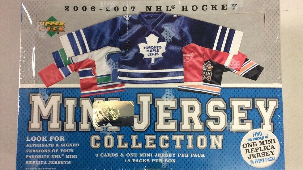 2006-07 Upper Deck Mini Jersey Hockey Factory Sealed Hobby Box