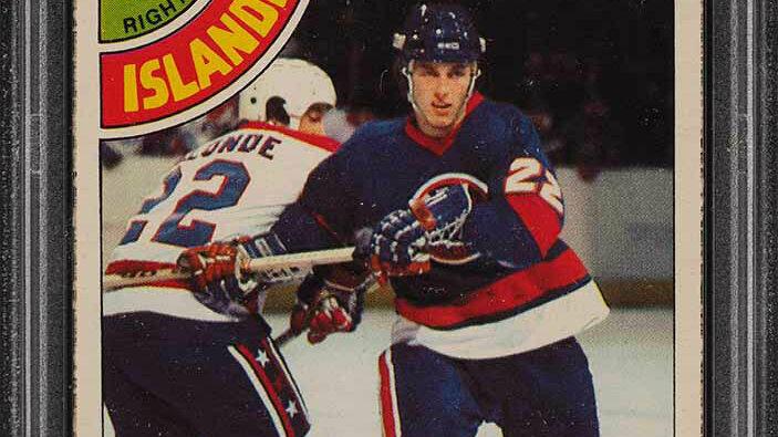 1978 O-Pee-Chee Hockey Mike Bossy ROOKIE RC #115 PSA 7 NRMT (PWCC)