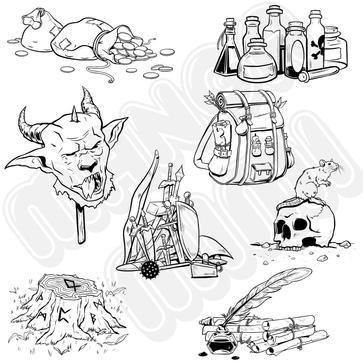 RPG spot illustrations.JPG