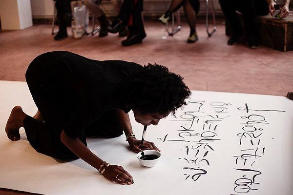 SOMOS, Berlin Art, Performace art, Iman Person, Somatic language, mother tongue