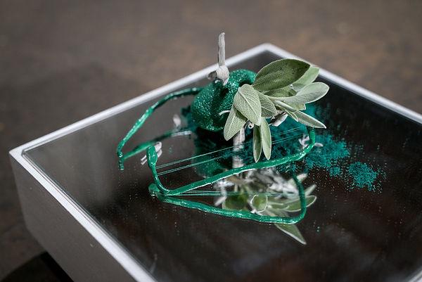 Sage, Salvia, Herbs, chakras, plant art, ceramics