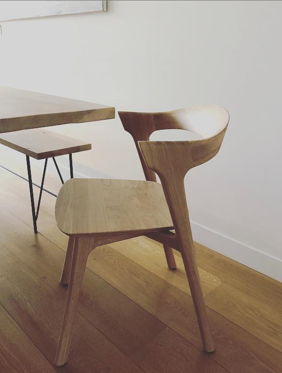 Oak bok dining chair - Ethnicraft