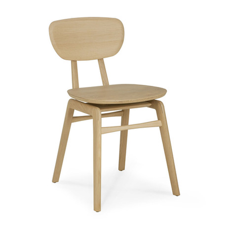 Oak Pebble dining chair - Ethnicraft