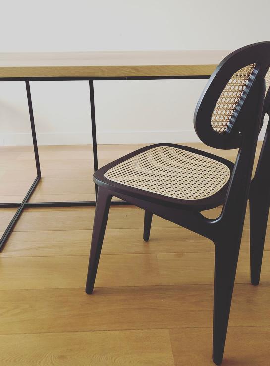 Titus dining chair - Noir - Vincent Sheppard