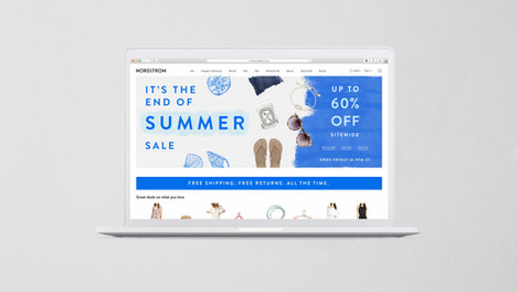 Nordstrom End of Summer Sale