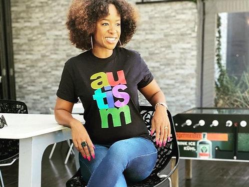 Black Autism T-shirt