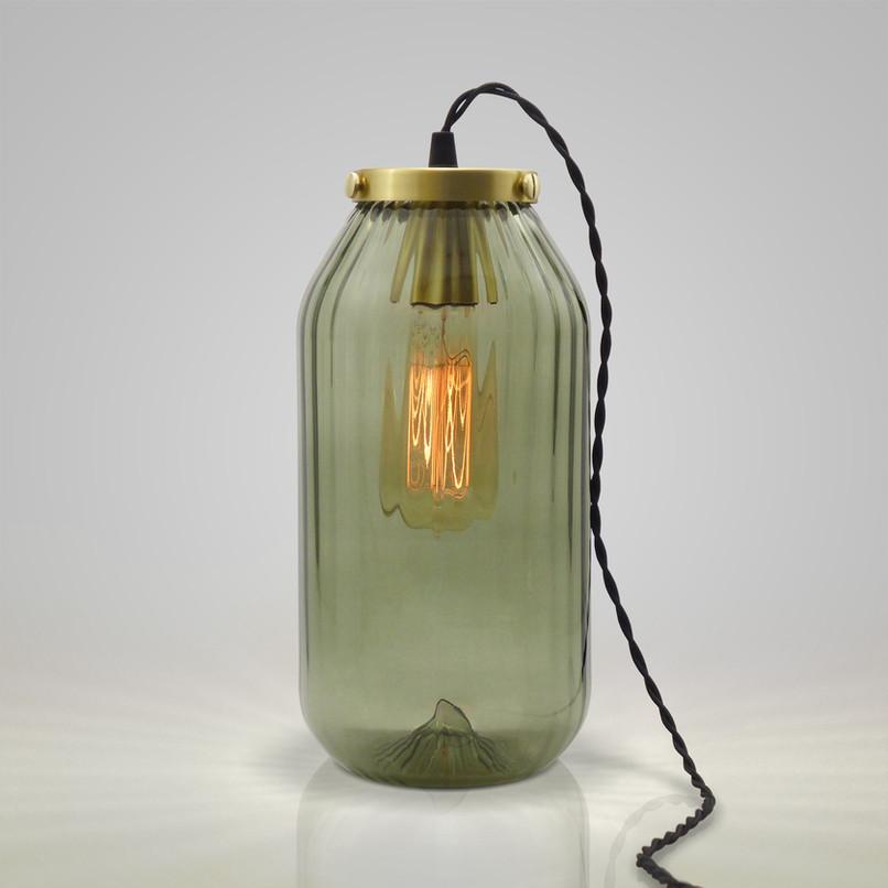 ref.5411 JAR of LIGHT candeeiro de mesa alto