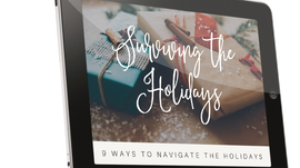 Tips To Stress Less This Holiday Season