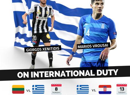 Vrousai & Xenitidis on international duty