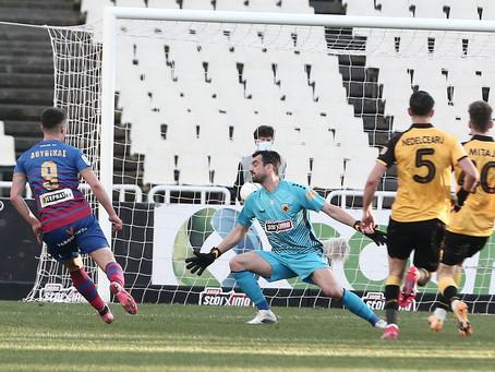 Excellent Douvikas for Volos against AEK Athens