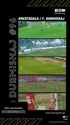 Best Goals of Durmishaj