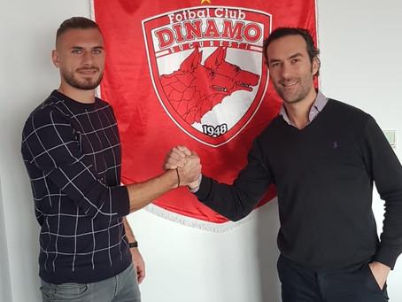 Thanasis Papazoglou to FC Dinamo Bucuresti