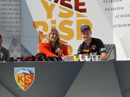 We've signed Kolovetsios to Kayserispor!