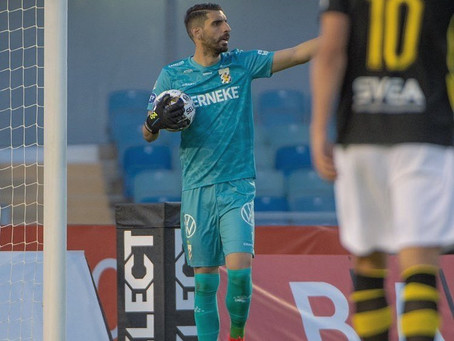 Giannis Anestis kept a second clean sheet for IFK Goteborg in 2 games