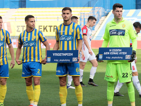 Apostolos Konstantopoulos, great performance for Panetolikos' crucial victory vs. Volos