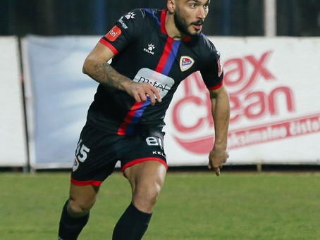 Moraitis scored a great goal for FK Borac Banja Luka