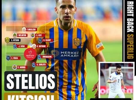 Stelios Kitsiou: Team of the League 2019/20