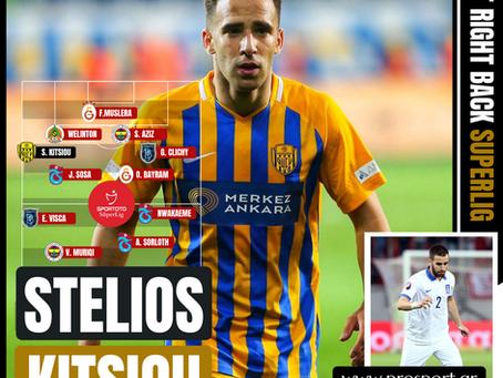 Stelios Kitsiou: Team of the League 2019/20