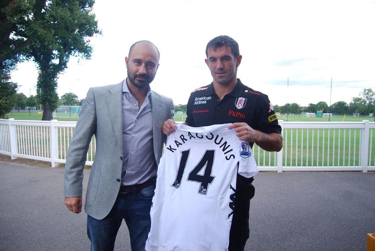 Karagounis to Fulham