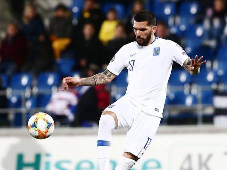 Dimitris Kolovos joins the Greek National Football team!