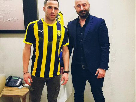 Stelios Kitsiou on Loan to Ankaragucu
