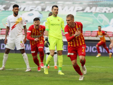 Kolovetsios scored the winner for Kayserispor
