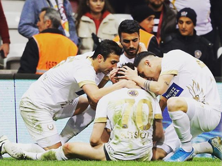 Kitsiou equalised Galatasaray in the last minute (VIDEO)