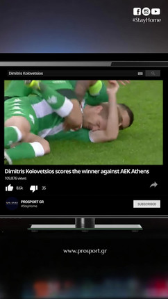 Kolovetsios Winning Goal vs. AEK