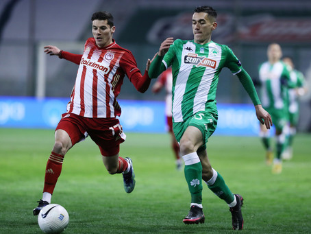 Alexandropoulos had another remarkable performance vs. Olympiacos