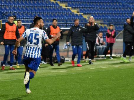 Moraitis Scores 5th Goal in 4 Games for FK Budućnost