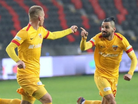 Kolovetsios scored again for Kayserispor vs. Gaziantep (video)