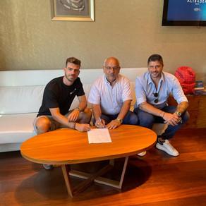 Dimitris Goutas signs for Sivasspor