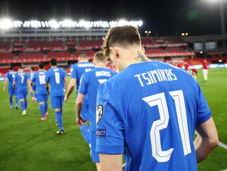 Magnificent Tsimikas for Greece vs. Spain