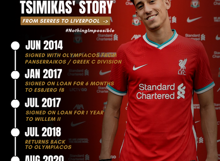 #FromSerresToLiverpool | Tsimikas' Football Story