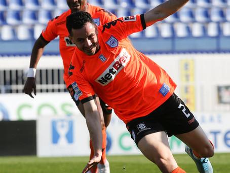 Amazing Manolis Saliakas for Pas Giannina in Greek Cup