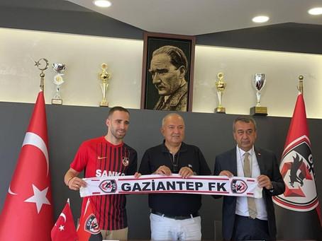 Kitsiou signs for Gaziantep FK