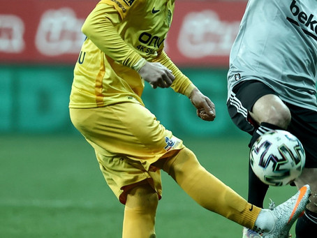 Excellent Stelios Kitsiou, as Ankaragucu grabbed a draw vs. Besiktas