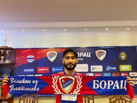 Official: We've signed Moraitis to Borac Banja Luka