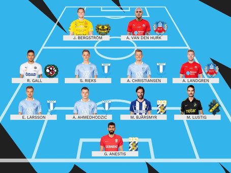Giannis Anestis: TEAM OF THE WEEK